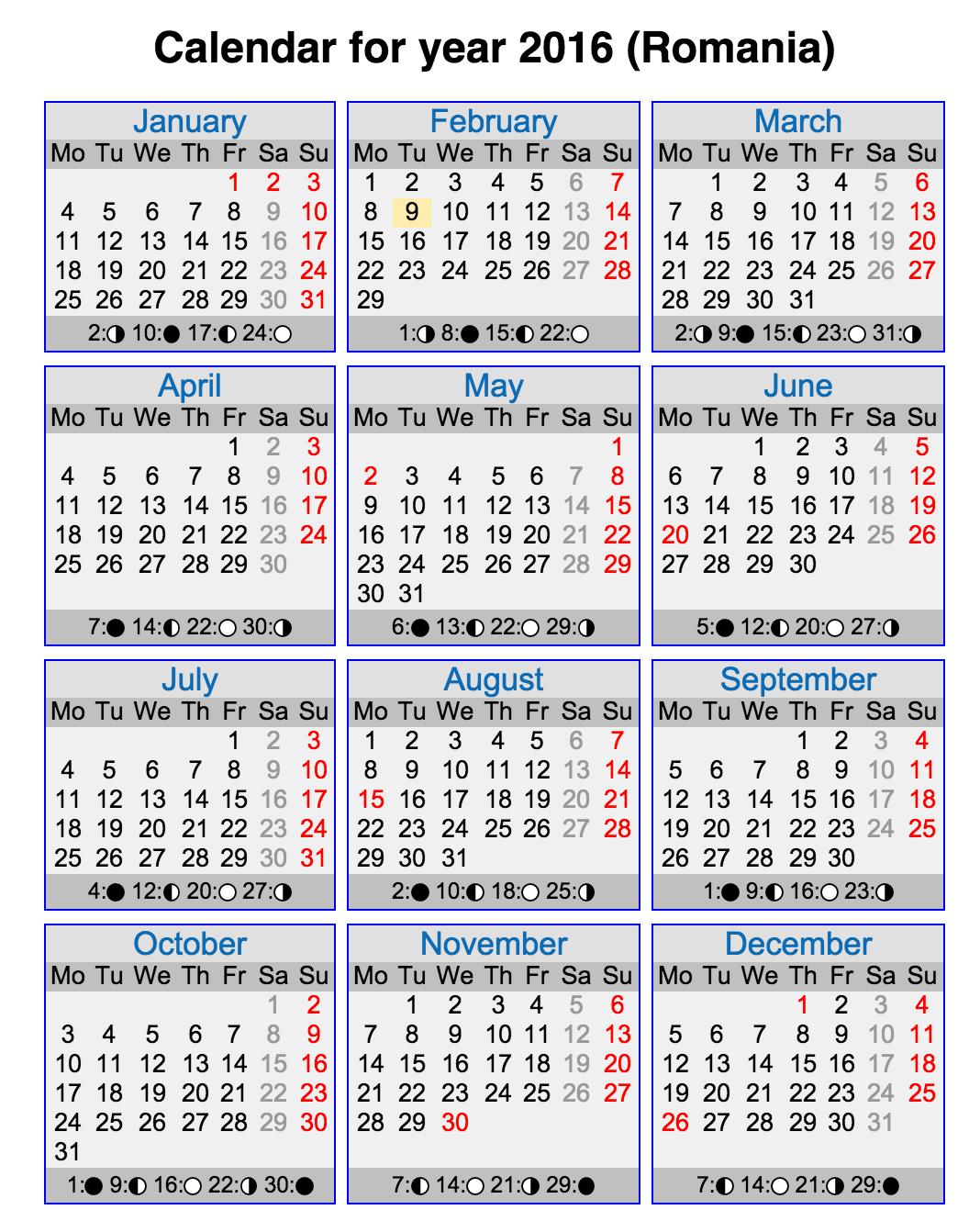 calendar-lunar-2016-romania