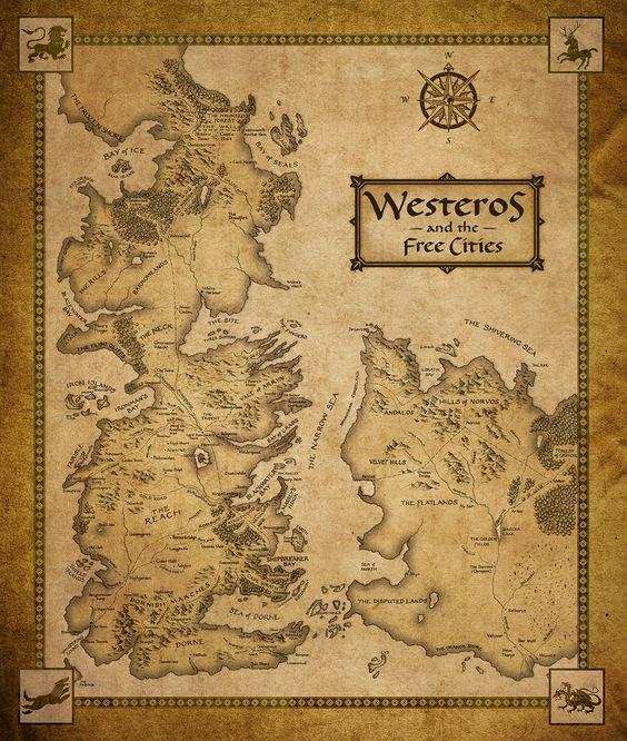 harta Westeros